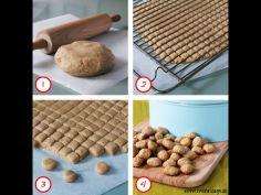 Barfods hjemmeside - Pebernødder/Traditional Danish Christmas Cookies english