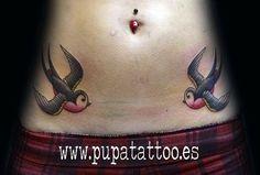 Tatuaje Golondrinas, Pupa Tattoo, Granada