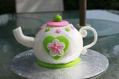 Teapot cake Teapot Cake, Cake Face, How To Make Cake, Tea Pots, Cakes, Tableware, Dinnerware, Cake, Dishes