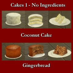 Simsworkshop: Custom Food Cakes-No Ingredients 1 by Leniad • Sims 4 Downloads