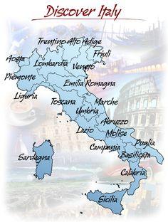 ITALY - Tourism in Italy, travel tips, information, italian regions