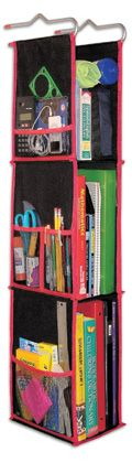 Organize the school locker.  Could be used in a closet as well.