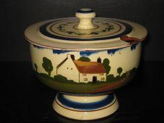 Watcombe Pottery Junket Bowl