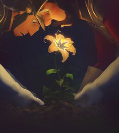Flower, gleam and glow Let your power shine, make the clock reverse bring back what once was mine. Heal what has been hur...