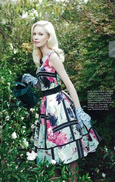 Rosie Crawford by Carolyn Haslett for Fashion Quarterly Races Fashion, High Fashion, Full Skirts, Vintage Skirt, Vintage Looks, Spring Summer Fashion, Poses, Lady, Fashion Design