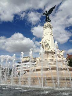 Place de la libération a Dijon