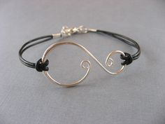 Silver Swirl Bracelet Anniversary gifts sisters by DevinMichaels, $15.75