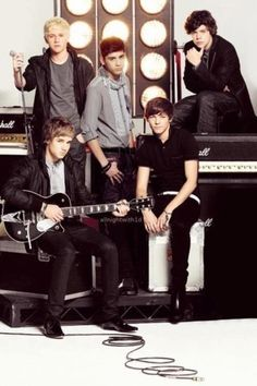 It's July 23rd here, meaning that it's the third anniversary of the day this crazy little band was formed... Look how tiny they were. They were babies!