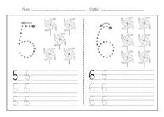 Fitxes caligrafia numeros 1 9 Classroom Crafts, In Kindergarten, First Grade, Vocabulary, Bullet Journal, Cards, Homework, Gabriel, Montessori