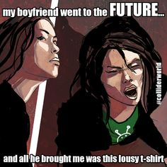 Lousy T-Shirt #colliderworld #future #timetravel #tshirt #scifi #comics