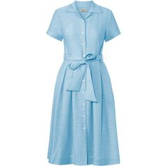 Orla Kiely Slub Silk Shirt Dress