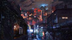 Risultati immagini per cyberpunk wallpaper