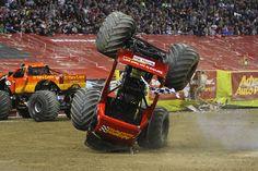 monster truck wreck