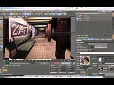 Cinema 4D Tutorial_Matte Painting_ Projection man Tutorial(시네마 4D 프로젝션맨 강좌) - YouTube