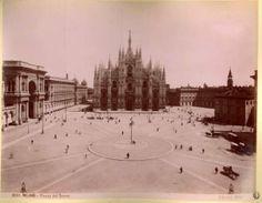 Piazza Duomo prima del 1896
