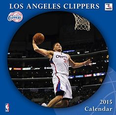 Turner Perfect Timing 2015 Los Angeles Clippers Team Wall Calendar, 12 x 12 Inches (8011668)