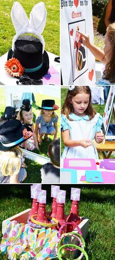 Alice in Wonderland tea party - weddingsabeautiful