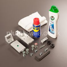 Pendle Maintenance Pack. This handy pack includes spare fittings and products to enable you to maintain a Pendle™ toilet cubicle.