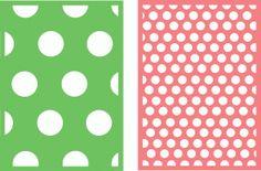 Silhouette Design Store - View Design #41475: 5x7 background circles