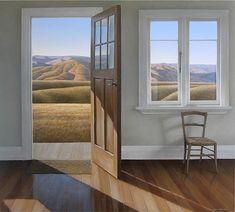 A gallery of landscape paintings by New Zealand artist Neil Driver. Landscape Art, Landscape Paintings, Landscapes, American Realism, New Zealand Landscape, New Zealand Art, Emotional Photography, Nz Art, Through The Window