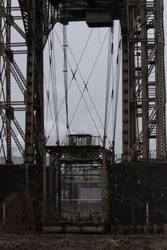 Warrington Transporter Bridge - Photos
