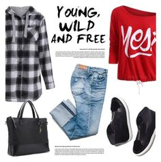 """Wilde and free!"" by helenevlacho ❤ liked on Polyvore featuring Loeffler Randall"