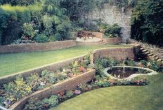 20 Best Terraced Garden Images Garden Backyard Outdoor Gardens
