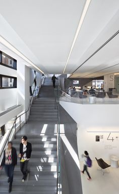 Dynamic interiors at the UC. Taking the stairs has never been so pleasurable.