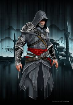 Assassin's Creed © Ubisoft The Assassins Brotherhood: Ezio Auditore Da Firenze (Kostantiniyye Assassins Creed 2, The Assassin, Asesins Creed, All Assassin's Creed, Assassin's Creed Brotherhood, Conquistador, Geeks, Ezio, Assassin's Creed Wallpaper