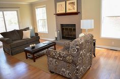 Living Room Staging by | Don Johnson Real Estate Team