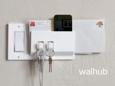 Walhub: Functional Switch Plates that Turn Your Wall Into a Hub