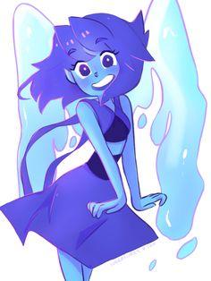 lunarflurry:  Finished Miss Lapis Lazuli <3