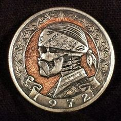 Homeboy hobo nickel by Mathew Hagermann