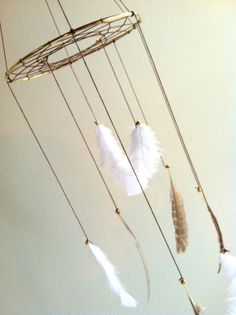 This Dreamcatcher Mobile combo. Maybe even have some little paper birds hanging down too. Indian Nursery, Boy Room, Kids Room, Prince Nursery, Neverland Nursery, Peter Pan Nursery, Dream Catcher Mobile, Party Set, Baby F