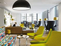 In the sprawling corporate environs of the Regent's Place development near Great Portland Street sit the green – literally and figuratively – offices...