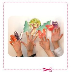 Diy Headband, Dramatic Play, Puppets, Free Printables, Crafts For Kids, Paper Crafts, Projects, Blog, Fun Stuff