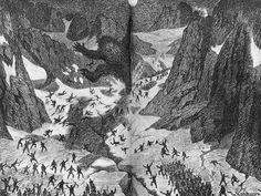 Theodor Kittelsen - Big troll in Breifonnen, 1892 by Aeron Alfrey, via Flickr
