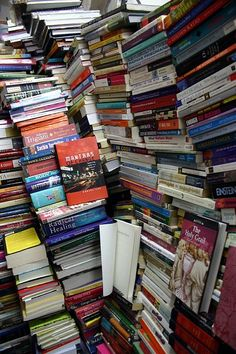 Good luck mining for books at Giggles Bookstore, Chennai