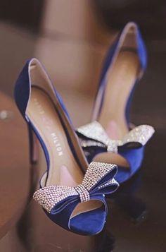 Blue wedding shoes, Blue high heels, bridals shoes, something blue, Crystal heels Blue Wedding Shoes, Bridal Shoes, Wedding Heels, Wedding Bride, Bridal Footwear, Wedding Bows, Church Wedding, Trendy Wedding, Bridal Gowns