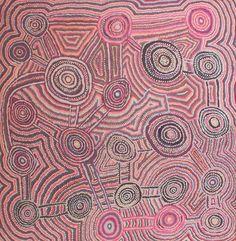 Mina Mina Jukurrpa (Mina Mina Dreaming) -  Ngalyipi by Jeanie Napangardi Lewis