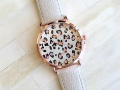 Leopard Print Watch