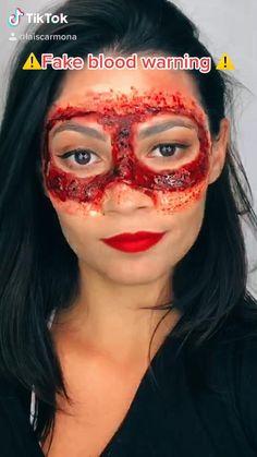 Sfx Makeup, Makeup Hacks, Costume Makeup, Makeup Art, Creepy Halloween Makeup, Amazing Halloween Makeup, Futuristic Phones, Cute Makeup Looks, Most Satisfying Video