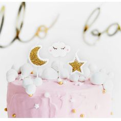 Cloud, Star And Moon Shaped Candles by Postbox Party, the perfect gift for Explore more unique gifts in our curated marketplace. First Birthday Cakes, Girl Birthday, Birthday Parties, Wedding Advice Cards, Cute Candles, Birthday Cake With Candles, Cupcakes, Moon Shapes, Christmas