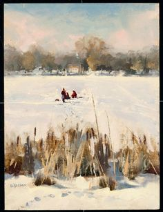 The Catch by Don Biehn (shown below) was selected as a Finalist in the December 2011 RayMar Art Painting Competition.