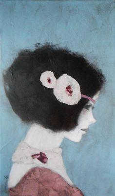 Art Et Illustration, Illustrations, Expressionist Portraits, Images D'art, Art Visage, L'art Du Portrait, Paintings I Love, Art For Art Sake, Naive Art