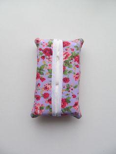 Pocket Tissue Case Floral  £2.00