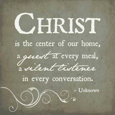 Like and share if you are aware that Christ is at the center of your every interaction!!
