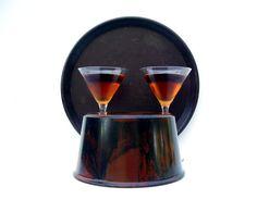 Vintage Bolta Ice Bucket & Tray Mid century by OceansideCastle