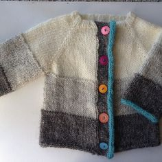 Free download. Little Coffee Bean Cardigan pattern by Elizabeth Smith