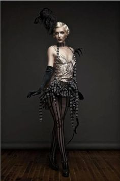 Homemade Burlesque Costume Ideas.
